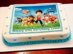 Paw Patrol birthday cake Baby Boy First Birthday, Happy 2nd Birthday, Boy Birthday Parties, Birthday Ideas, Birthday Cards, Paw Patrol Birthday Cake, Paw Patrol Party, Torta Paw Patrol, Bithday Cake