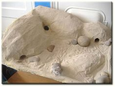 Gerbil Playground How-To  Neat tutorial, but I wonder about the safety of the PVA glue and non-specified paint if the gerbils decide to chew on it?