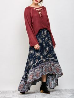 SHARE & Get it FREE | Paisley Pattern Bohemian Maxi SkirtFor Fashion Lovers only:80,000+ Items • New Arrivals Daily Join Zaful: Get YOUR $50 NOW!