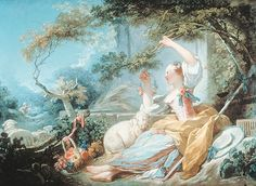 Shepherdess, Jean Honore Fragonard