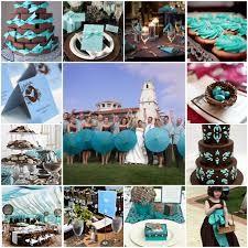 Resultado de imagem para festa de 15 anos com decoração azul turquesa