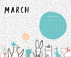 March already.... how'd that happen!?   With the year flying by at the most ridiculous rate, we're giving you a helping hand each month with...