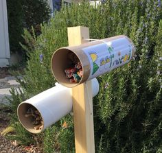 Simple and cute DIY mason bee house for your garden!