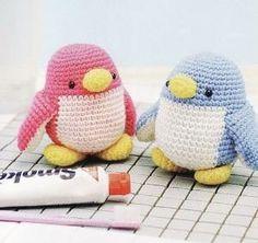 """Crochet Amigurumi free pattern penguin"" #Amigurumi  #crochet by Asmodel"