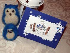 Kika's Designs : Owls in Winterland