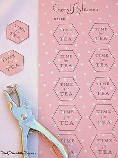 Pink Piccadilly Pastries: How to Make LEMON TEABAG COOKIES & DIY TEA TAGS