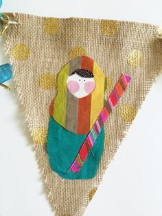 The Happy Nativity Banner PDF by thesaraprojectshop on Etsy