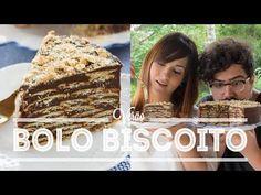 A receita do bolo/torta mais fácil do mundo é esta: brigadeiro e biscoito (ou bolacha hehe) de maisena. Se você gosta de palha italiana, vai enlouquecer com a versão gigante! Vamos lá? Food...