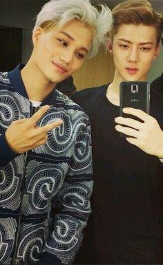 Kai and Sehun :3
