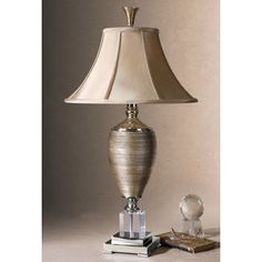 Uttermost Abriella Metal and Porcelain and Crystal Table Lamp - 16270929 - Overstock Shopping - Great Deals on Uttermost Table Lamps