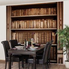 Vliestapete Premium - Altes #Archiv - Fototapete Quadrat #Holz #Tapete #Natur #Natürlichkeit #Wald #Baum