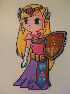 Epic Perler Zelda by SpringDasie