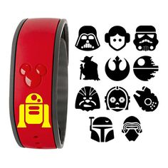 Includes (1) DECAL ONLY to make your own Magic Band super sassy and special!! At checkout please provide: - Color: - Best method of contact (we