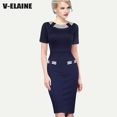 New European 2015 Women Summer Elegant Ladies Pinup Colorblock Contrast Party Cocktail Prom Slim Fitted Sheath Pencil Dress - http://www.aliexpress.com/item/New-European-2015-Women-Summer-Elegant-Ladies-Pinup-Colorblock-Contrast-Party-Cocktail-Prom-Slim-Fitted-Sheath-Pencil-Dress/32423205206.html