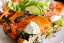 Red pepper, spinach and sweet potato tortilla – Recipes – Slimming ...