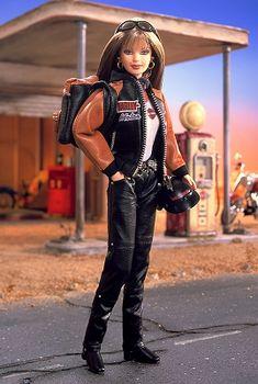 2000 Barbie Harley Davidson #4 Barbie® | Harley-Davidson Barbie Dolls Collection *POP CULTURE