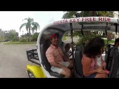 Siesta Key Free Ride - tips only, fun and safe transportation to the restaurants, bars, shopping and the beaches of Siesta Key!