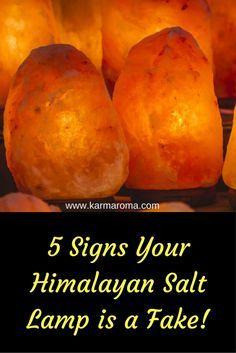 5 Signs Your Himalayan Salt Lamp Is A Fake!