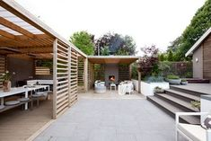 , - Pergola Patio Videos Cheap - - - There are several things which can ultimately complete a person's backyard, for. Backyard Patio Designs, Pergola Designs, Patio Ideas, Backyard Pergola, Backyard Landscaping, Pergola Swing, Pergola Shade, Outdoor Rooms, Outdoor Living