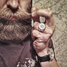 The brotherhood of @beardedvillains_sweden grew even stronger this weekend! The willpower of making a difference helping giving and showing solidarity where proven once again. Proud to be one of you guys.  @beardedvillains_sweden @beardedvillains  I will wear this #bvsc ring with pride! . A special thanks for making this event happen @criistopher @jernhestofficial and of course thanks to all the brothers!!! Loverespect and loyalty…
