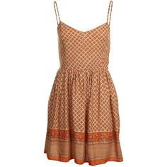 Mink Pink Sunkissed Sundress (210 BRL) found on Polyvore featuring dresses, vestidos, beige dress, sundress dresses, minkpink dress, minkpink and sun dresses