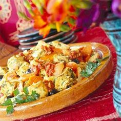 Seafood Tagine - Tagines and other Moroccan dishes often feature preserved lemons as an ingredient. Their salty-sour bite adds an important element to the recipe. To substitute, grate about ½ teaspoon lemon zest and 1 tablespoon fresh lemon juice into the recipe. You may need to adjust the salt, as well, but taste first.