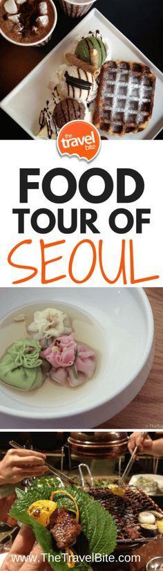 FOOD TOUR OF SEOUL, SOUTH KOREA