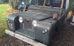 Check out these stunning discoveries of classic land rover barn finds for sale with Williams Classics. Barn Finds For Sale, Land Rover Defender, Pretty Cool, Landing, Antique Cars, Classic, Land Rovers, Motorcycles, Vans