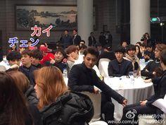 141126 Korea-China Friendship Concert - EXO with Zhoumi.