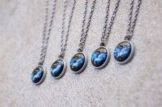 Mini Outer Space Galaxy Nebula Necklaces