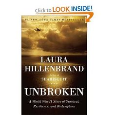 Unbroken - One of the best nonfiction books I have read.  HIGHLY recommend this one!  HIGHLY!