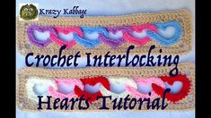 How to Crochet Linked Hearts