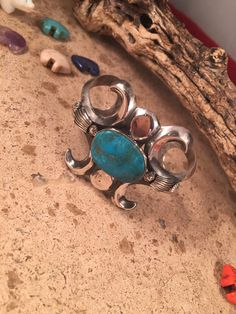 A personal favorite from my Etsy shop https://www.etsy.com/listing/265794249/kingman-turquoise-sterling-silver-navajo