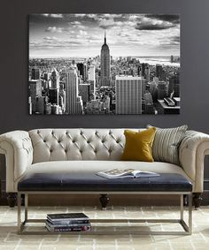 Look at this NYC Downtown  Wrapped Canvas on #zulily today!