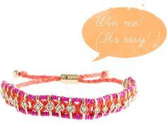 Fashion Giveaways: La fille en rose: Win a J. Crew friendship bracelet!