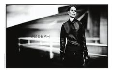 Suvi Koponen for Joseph FW Campaign Joseph, Leather Jacket, Ad Campaigns, Jackets, Exterior, Fictional Characters, Fashion, Advertising, Studded Leather Jacket