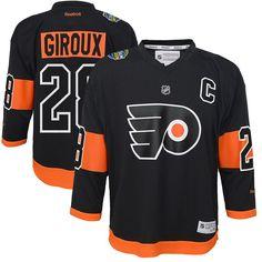 170080956ab Claude Giroux Philadelphia Flyers Reebok Youth 2017 Stadium Series Replica Player  Jersey - Black