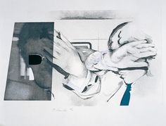 Available for sale from Sims Reed Gallery, Richard Hamilton, Swingeing London 67 Etching and aquatint, 57 × 73 cm Swinging London, Richard Hamilton Artist, Contemporary Art Prints, Collage Artists, Pop Art, Illustration, Abstract, Gallery, Artists