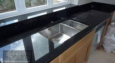 "Star Galaxy Granite ""Beautiful worktops and excellent team of fitters. Thank you!"" #GraniteWorktops"