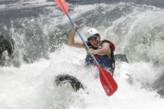 Summer rafting trips on the Gauley River in West Virginia
