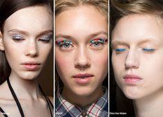 Spring/ Summer 2016 Makeup Trends: Glittering Eye Makeup