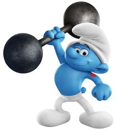 Hefty Smurfs The Lost Village Transparent PNG Image