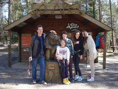 Chocolate maker Willie Harcourt-Cooze and his family joined the Tribe last week. Here they are pictured at Haldon Forest, Devon posing with our Gorilla.
