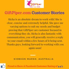 We are very proud to have happy customers across the globe. Testimonials like these make our days and keep us going