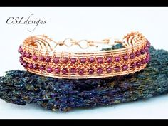 In this tutorial I show you how to make a 3 row wire goddess macrame bracelet. Please feel free to give it a go yourself and I hope you enjoy. This is my ori...
