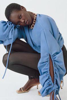 Fall Fashion Outfits, High Fashion, Fashion Dresses, Womens Fashion, Fashion Trends, Fashion Details, Fashion Design, Blouse Designs, Blouses For Women