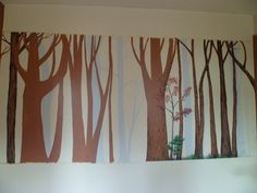 Forest mural by Melanie76
