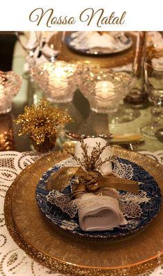 RECEBER EM CASA NO NATAL   Anfitriã como receber em casa, receber, decoração, festas, decoração de sala, mesas decoradas, enxoval, nosso filhos