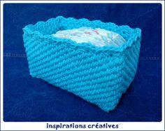 Tuto Panier Range-Couches au Crochet - Inspirations Créatives