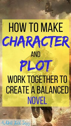 Some of the best stories do an excellent job balancing character and plot. Here& one way to plot with your character in mind and create a balanced story. Creative Writing Tips, Book Writing Tips, Writing Jobs, Writing Process, Fiction Writing, Writing Resources, Writing Help, Writing Skills, Writing Ideas